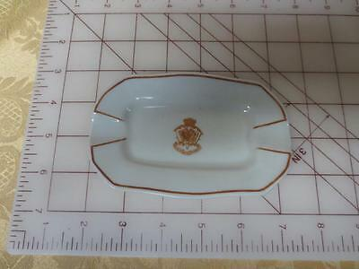Vintage Madrid Palace Hotel Ceramic Ashtray souvenir from spain free US shipping
