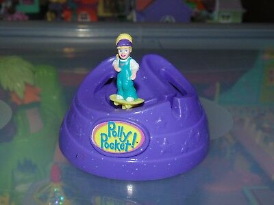 Polly Pocket SUBWAY SKATE PARK 1999 Play Set Bluebird Vintage