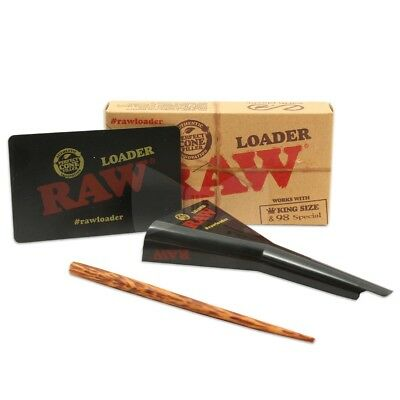 Raw Classic Rolling Papers King Size / 98 Special Cone Loader Pre Rolled Filler
