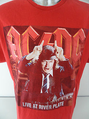 AC/DC Live River Plate Buenos Aires Argentina XL T Shirt Angus Highway to Hell