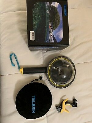 Gopro Underwater Dome Housing Telsin Split Above Below Water Housing For Hero 5