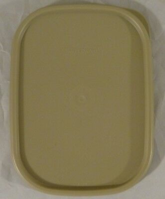 New Tupperware Replacement Lid - Tan - Modular Mates #1793-1