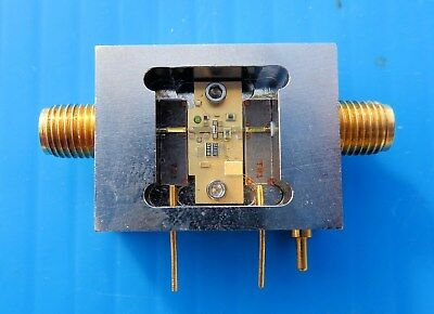 RF Microwave Amplifier Ghz Assembly With Open Lid (For Communication)