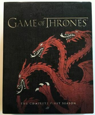 Game of Thrones Season 1 Blu-Ray Best Buy Exclusive With Digital Download VG