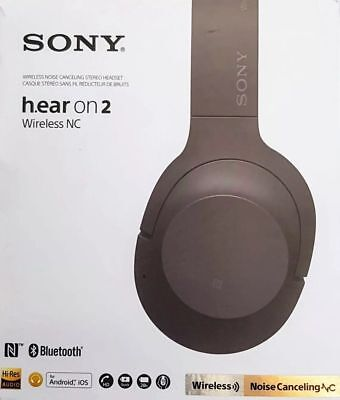 NEW Sony WH-H900N BDC h.ear on 2 Bluetooth Wireless Noise Canceling Headphones