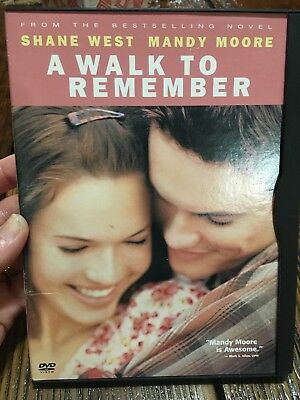 A Walk to Remember DVD Mandy Moore 2002 Warner Home Video