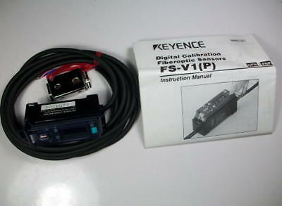 Keyence, FS-V1P, Fiber optic Sensor Photoelectric NEW