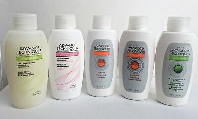 Avon~Lot of 2~Advance Techniques~Shampoo or Conditioner~Travel/Mini Size