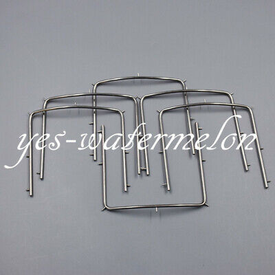 1x Dental Punch Frame Stainless Steel Endodontic Surgical For Rubber Dam System