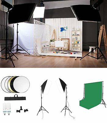 La fotografia professionale Flash da Studio Illuminazione Kit Softbox Kit inmodo