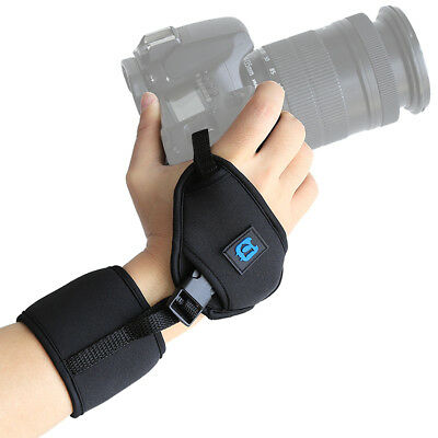 Camera Neoprene Hands Grip Wrist Straps for Canon Nikon Sony Pentax Olympus DSLR