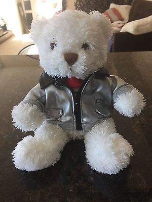 CXexcitment - Cathay Pacific Airways Pilot Cuddly Bear in Silver Jacket 60th Ann