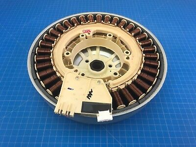 DC31-00074C Genuine OEM Samsung Washer Motor Rotor Assembly