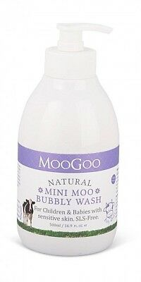 Moogoo Nautral Mini Moo Bubbly Wash For Childrens And Babies (500 Ml)