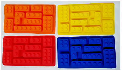 Multi Lego Brick Silicone Chocolate Jelly Cake Soap Mold Mould Party Novelty AU