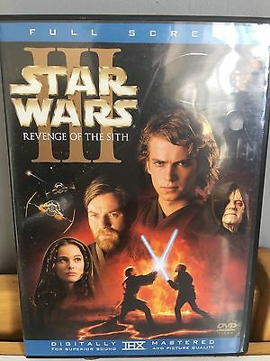 Star Wars Iii Revenge Of The Sith Dvd 2 Disc Set  Wide Screen