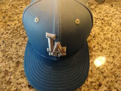 New Era 59Fifty Los Angeles LA Dodgers Game Fitted Hat (Blue) MLB Cap