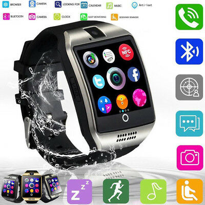 Watch Smart Bluetooth ANDROID Q18 Sim Wrist Camera Smart Phone Screen Touch