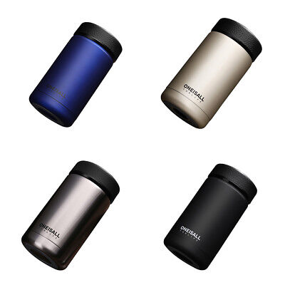 400ML Stainless Steel thermos vacuum cup Portable Insulated Travel Flask Bottle