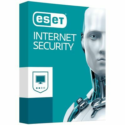 Eset INTERNET SECURITY  VERSION 12-  3 pc/2año