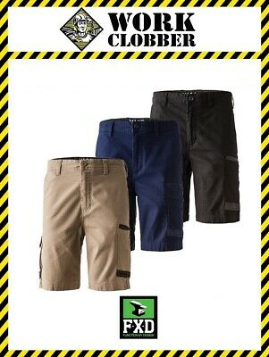 FXD Cotton Stretch Cargo Shorts WS-3 NEW WITH TAGS!