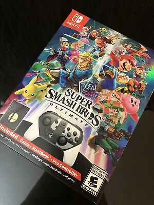 Super Smash Bros Ultimate Special Edition - Nintendo Switch Brand New Unopened