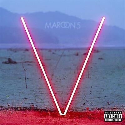 V - Maroon 5 (Cd, 2014) 💿 [Brand New]