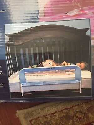 BED RAIL: Dream On Me Mesh Security Crib Rail, Blue, childs or adults bed rail
