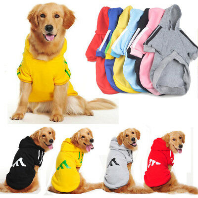 Small Pet Dog Hoodie Coat Jacket Puppy Cat Winter Warm Hooded Costume Apparel