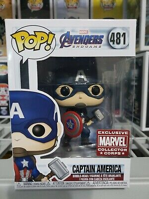 Funko POP! End Game Captain America Marvel Collector Corps READY to SHIP*