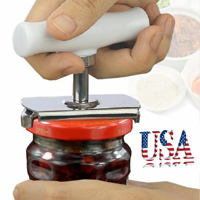 Adjustable STAINLESS CAN JAR TIN BOTTLE OPENER FOOD KITCHEN TOOL Professional