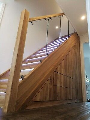Oak Stairs cladding renovation- advice and quotation