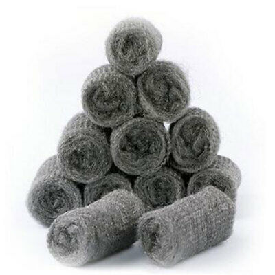 Set of 6PCS Steel Wool Pad Wire Cleaning Ball Pan Cleaner Liquid Cleaners