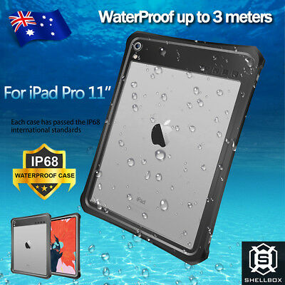 For Apple iPad Pro 11 inch 2018 Waterproof Shockproof 360° Protective Case Cover