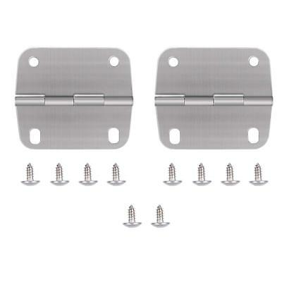 6feaa0fbe5d Cooler Hinges and Screws Set Stainless Steel Replacement for Coleman Cooler