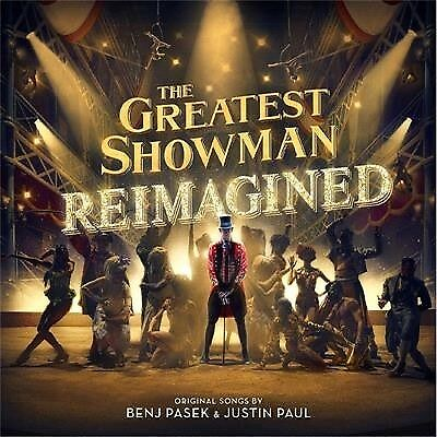 The Greatest Showman – Reimagined - Soundtrack (Cd, 2018) 💿 [Brand New]