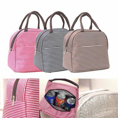 Cool Bag School Office Picnic Insulated Thermal Cooler Carry Tote Lunch Box AY