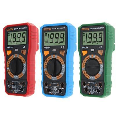 ANENG AN819A LCD Display Digital Multimeter DC / AC Voltage CurrentTriode Met