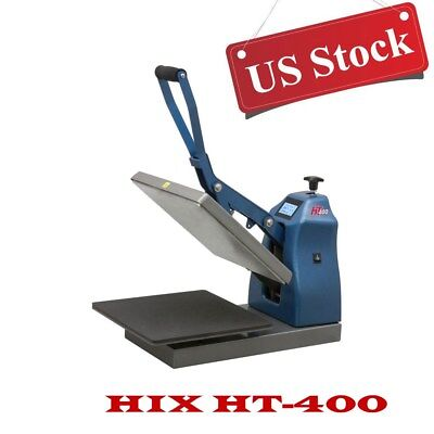 "USA Digital Manual Clamshell Heat Press Machine 15""x 15"" Platen & Splitter Stand"