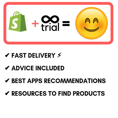 Shopify Trial Unlimited No 60 or 30 days, unlimited without fees