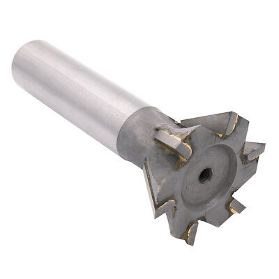10-45mm T-Slot Cutters Dovetail Cutter End Mill Milling Angle HSS 45° 55° 60°