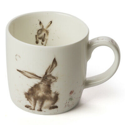 NEW Royal Worcester Wrendale Designs Good Hare Day Mug