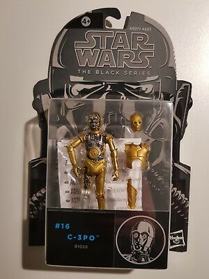Hasbro Star Wars C-3PO Black Series 3.75 Inch Action Figure Exclusive