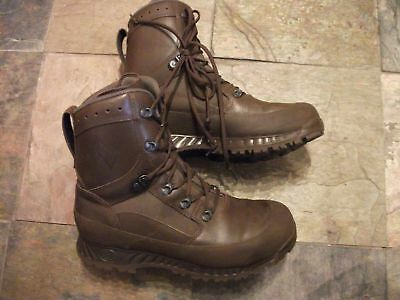 British Army Issue HAIX Brown Leather Boots