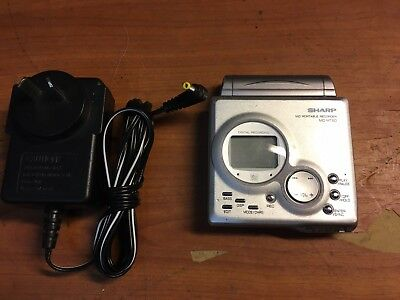 Sharp Mni Disc Player And Portable Recorder MD-MT-80