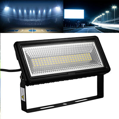 50W LED Floodlight Cool White Outdoor Security Light For Garage Garden Wall IP65