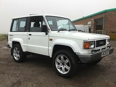 1990 ISUZU TROOPER 2.6 Petrol MANUAL SWB