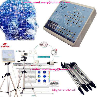 CONTEC KT88-3200 Digital 32-Channel EEG  Mapping Systems 3Y warranty+2 brackets