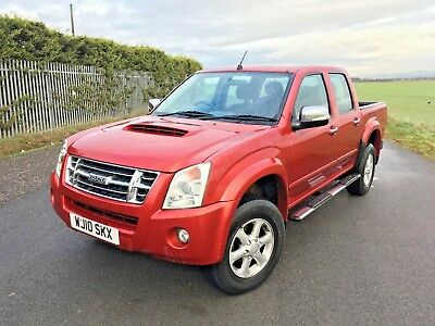 2010 ISUZU RODEO 2.5 TURBO DIESEL MANUAL double cab