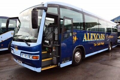 55 seater coach, automatic, new mot, scania intercentry